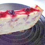ホームベーカリーで『いちごベークドチーズケーキ』