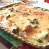 里芋とブロッコリーのとろホクグラタン