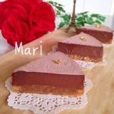 焼かない✨材料④✨超濃厚✨生チョコタルト