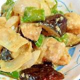 炒め物におすすめ★ごまみそダレ★鶏もも&野菜炒め