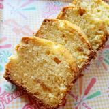 柚子茶のパウンドケーキ