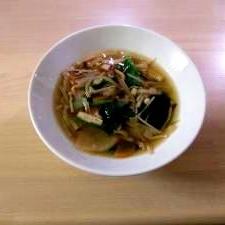 しょうがでポカポカ!具沢山の食べるスープ