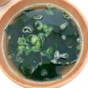 ネギとわかめのスープ