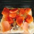 さつまいもと柿のトースト