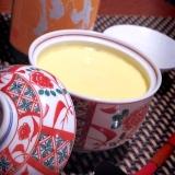 日本酒にワインに、カボチャの茶碗蒸し