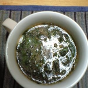 モロヘイヤの王様スープ(トマト・にんにく風味)