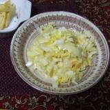 マンゴーと白菜のシャキシャキサラダ