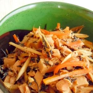 ごぼうと高野豆腐の煮物