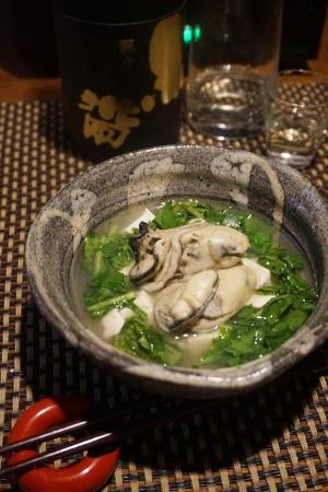 【石川食材】牡蠣とクレソンの小鍋