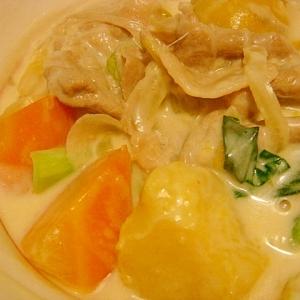 豚肉と野菜のクリームシチュー