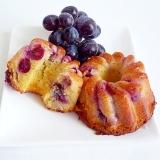 ぶどうのパウンドケーキ