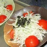 大根と大葉のサラダ