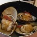これぞ漁師飯、ほっき貝の殻焼き