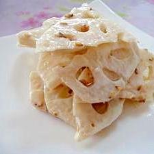 蓮根のサラダ★味噌マヨネーズ風味