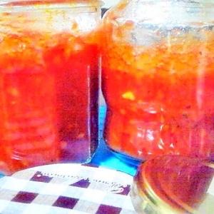 我が家の常備食トマトソース