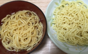 つけ麺のタレ