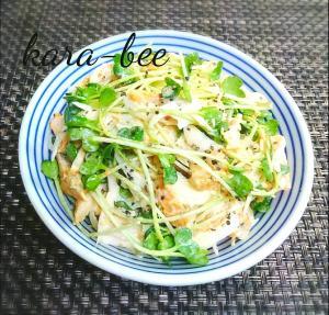 新玉とサラダチキンの簡単カレーマヨサラダ