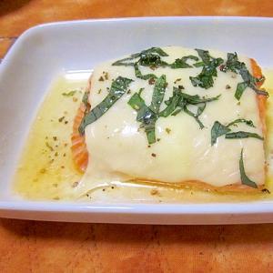 サーモンバター焼き大葉チーズ焼き
