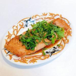 桜鱒の素焼き♪旬の素材で