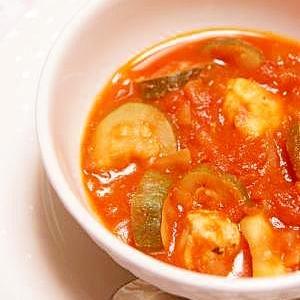 美味しい!鶏肉&ズッキーニのトマト煮