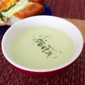 枝豆のポタージュスープ