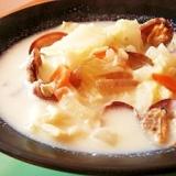 スキムミルクとチーズの濃厚チャウダー(和風)☆