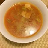 豚バラとトマトのスープ