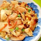 鶏むね肉の炒り豆腐