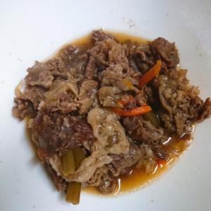 生姜風味の牛肉煮