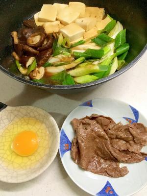 簡単!すき焼き (関西風)
