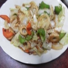 チクワの野菜炒め