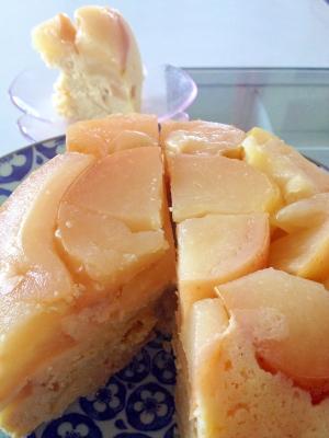 炊飯器♪簡単♪たっぷりりんごのおからケーキ♪
