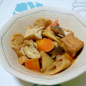 コクUP!厚揚げと野菜の煮物++