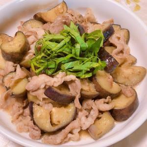 簡単☆茄子と豚肉の味噌煮