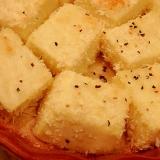 塩豆腐のパン粉焼き