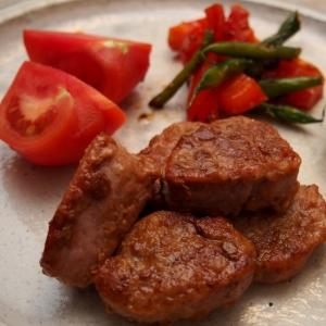 豚ヒレ肉のレモンバター焼き