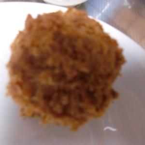 うずらの卵入りコロッケ
