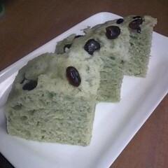 蒸しパン ~よもぎ風味~
