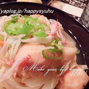 やさしい味☆鶏つくねと豆腐でうどん
