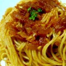簡単☆トマトソーススパゲティ