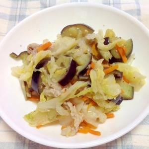 ノンオイルドレッシングで簡単野菜炒め♪