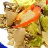 ストウブDE〜大根のカレー蒸し煮