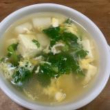 大根と豆腐の和風スープ