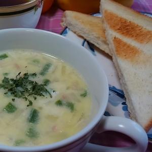 食べるクリームスープ♪朝食にオススメ*