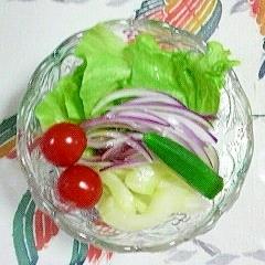 レタスのサラダ~♥