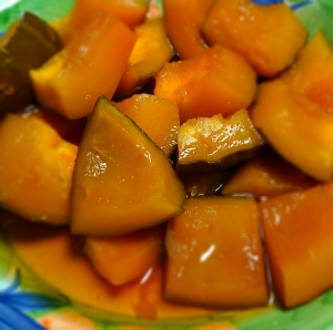 しっとりホッコリ かぼちゃ煮物