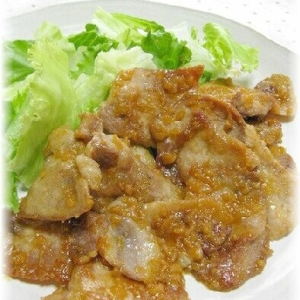 醤油麹でお手軽!豚の生姜焼きと生姜焼きのタレ☆