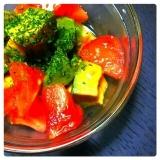 アボカド&トマト 彩りサラダ♪
