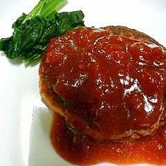 ヘルシー 豆腐ハンバーグ