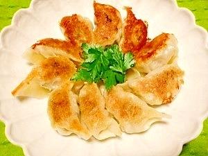 粗挽き肉で☆お肉が旨っ小松菜餃子